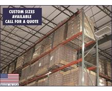 PALLET RACK GUARD NET SYSTEMS